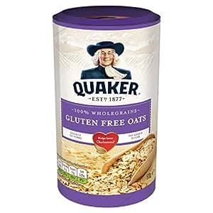 Quaker Oats Gluten Free Whole Grain Rolled Oats, 510 g, Pack of 5
