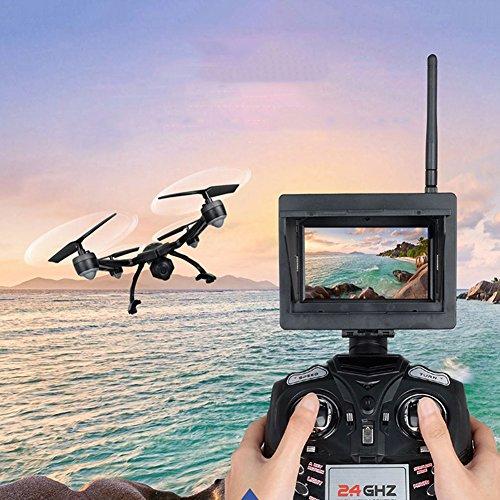 Helicóptero RC Drone Quadcopter JXD 510 W Altura de presión de aire Hold Mando a distancia Avión Wifi Real-time Transmission Style 4 ejes UAV Green Aerial Shooting Aircraft