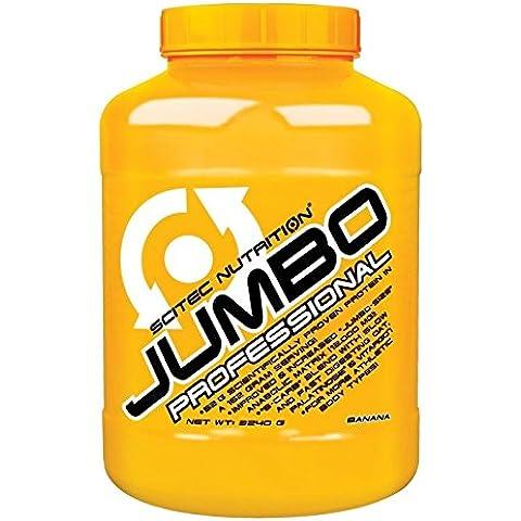 Scitec Jumbo Professional Batidos Aumentadores de La Masa Muscular - 3240 gr