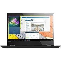 """Lenovo Yoga 520-14- Portátil táctil convertible de 14.3"""" HD (Intel I5-7200U, 8 GB de RAM, 256 GB de SSD, Windows 10), negro - teclado QWERTY Español"""