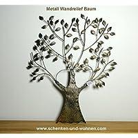 """Gilde Metall Wandrelief  /""""Du /& ich/"""""""