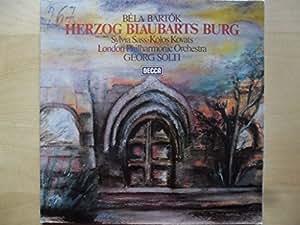 Bartok: HERZOG BLAUBARTS BURG [Vinyle LP record]