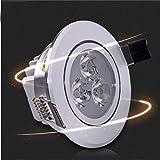 GAOQIANG 3W LED-Beleuchtung Lampe Abgehängte Decke Wohn Kulisse Volle Öffnung Lampe Licht Kleidung Rinder-Katze