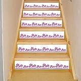 HONGLI HONGLIBlumen-Fliesen-Aufkleber-Selbstklebender Treppenhaus-Aufkleber-Dekoration-Hauptwasserdichter Treppen-Aufkleber Spezifikationen