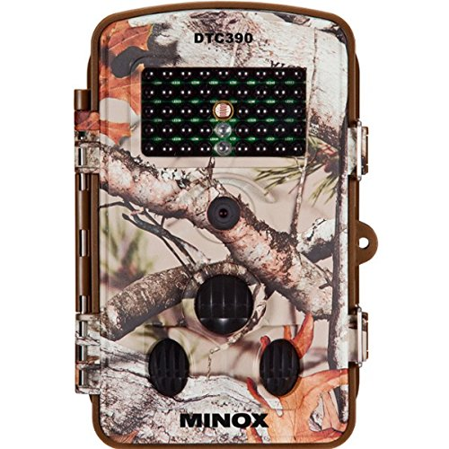 MINOX DTC 390 Wildkamera Camouflage/Kompakte Beobachtungs- und Überwachungskamera in Camouflage-Optik für bis zu 12 MP Bildaufnahmen und HD-Videoaufnahmen/Komfortable Display-Bildwiedergabe