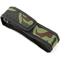 Hensych Nylon Holster Cover Magic Tape Camouflage Custodia per torcia