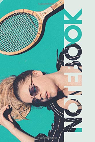 Notebook: Club Players Elegant Composition Book for Tennis Rankings notes por Molly Elodie Rose