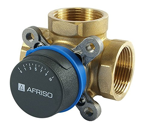 """AFRISO Qualität 3-Wege-DN25 1 \""""BSP-Mischventil Ventile für Heizung und Kühlsysteme ARV"""