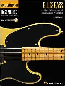 Ed Friedland Blues Bass Schule Tab Noten mit Download Code