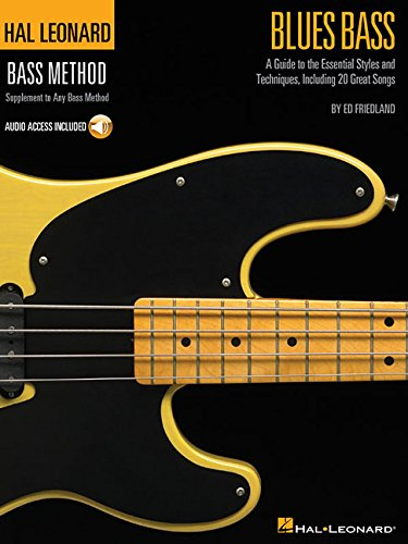 Hal Leonard Blues Bass Method Tab + Accès audio: A Guide to the Essential Styles and Techniques (Book & CD)