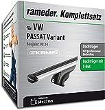 Rameder Komplettsatz, Dachträger Relingträger Kamei für VW PASSAT Variant (135345-12918-24)