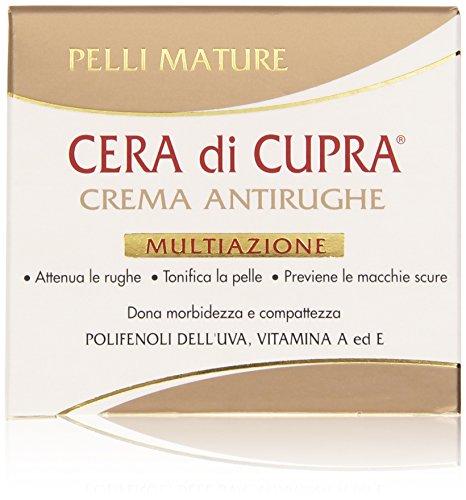 Cera di Cupra Crema Antirughe Multiazione per Pelli Mature, 50 ml