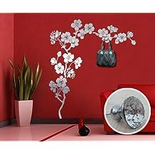 00323 Adesivo murale con pomelli stile Swarovski