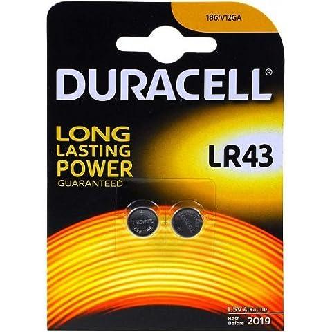 Duracell Knopfzelle Typ V12GA 2er Blister, Alkaline, 1,5V