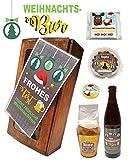 Geschenkbox Weihnachten 'Männer' S - Geschenkset Feinkostgeschenk Biergeschenk für Männer