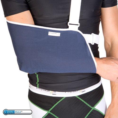 U-sling Gepolsterten Polyester (PhysioRoom Deluxe Elite Armschlinge gepolstert Schulterstütze)