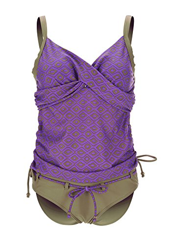 Petit Amour - Alaya tankini grossesse taille S-XL Violet