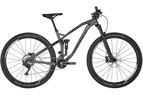 "VOTEC VXs Comp - Tour/Trail Fully 29"" - black/grey Tamaño del cuadro S / 41cm 2018 MTB doble suspensión"