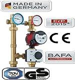 Pumpengruppe RS HE 25/6-130 Umwälzpumpe Zirkulationspumpe Solarpumpe+Stellmotor Kombigruppe