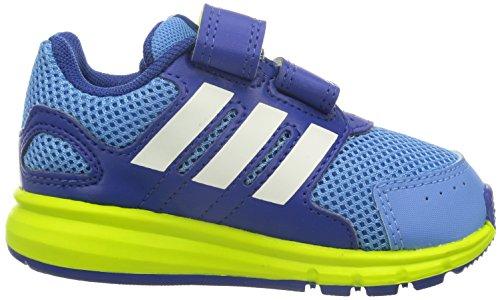 adidas Lk Sport Cf I, Baskets Basses Mixte Enfant Bleu - Azul / Lima