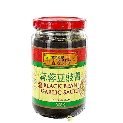 Sauce schwarze bohne mit knoblauch, LEE KUM KEE 368g China - Pack von 3 pcs