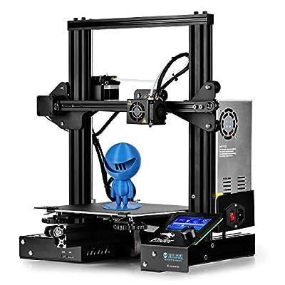 """SainSmart x Creality Ender-3 3D-Drucker, Lebenslauf Drucken V-Slot Prusa i3, für Home & School Verwendung, 8,7 x 8,7 x 9,8""""Build Plate"""