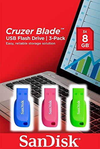 SanDisk Cruzer Blade - Memoria USB 2.0 de 8 GB...