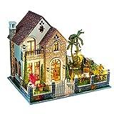 diy puppenhaus,Purebesi miniatur puppenhaus Süß, miniatur haus, puppenhaus bausatz - Liebe Wohnung (Ohne Staubschutz)