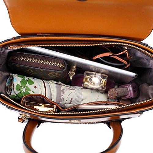 Keshi Pu Niedlich Damen Handtaschen, Hobo-Bags, Schultertaschen, Beutel, Beuteltaschen, Trend-Bags, Velours, Veloursleder, Wildleder, Tasche Braun