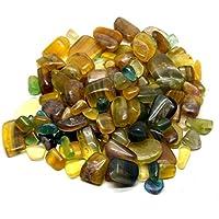 Heilung Kristalle Indien 1/0,9kg natürliches Multi Fluorit Tumble mit gratis eBook über Crystal Healing (Multi... preisvergleich bei billige-tabletten.eu