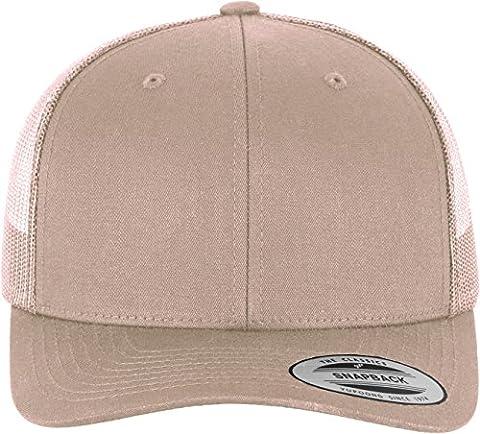 Flexfit Hat Retro Trucker, Unisex, Mütze Retro Trucker, khaki, One Size