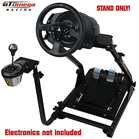 GT Omega Steering Wheel stand suitable For Thrustmaster T300 RS Force Feedback wheel & TH8A Shifter