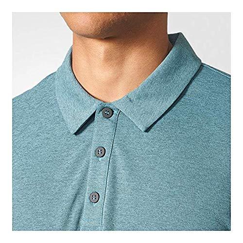 adidas Men`s Climachill Tennis Polo Blue-(191021902609)