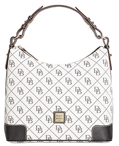 dooney-bourke-bolso-al-hombro-para-mujer-multicolor-blanco-negro