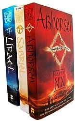Garth Nix 3 Books Collection Set (Sabriel Trilogy Bundle) (Garth Nix Collection) (Abhorsen, Lirael, Sabriel)