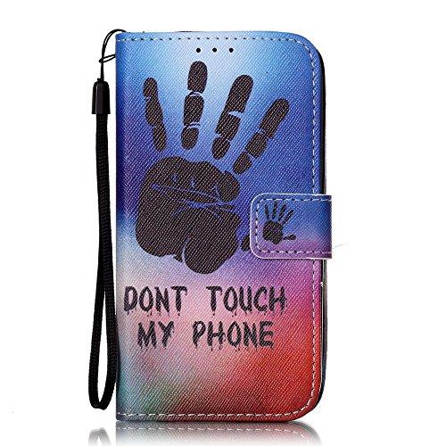 Eine Vielzahl von Farben XFAY HX-455 iPhone 7 Handyhülle Case für iPhone 7 Hülle im Bookstyle, PU Leder Flip Wallet Case Cover Schutzhülle für Apple iPhone 7-10 Farbe-11