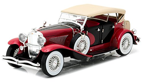 duesenberg-ii-sj-rouge-noire-1934-voiture-miniature-miniature-deja-montee-greenlight-118