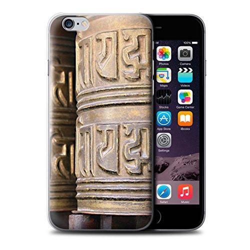Stuff4 Hülle / Case für Apple iPhone 6 / Paro Taktsang Muster / Innerer Frieden Kollektion Gebetsmühle