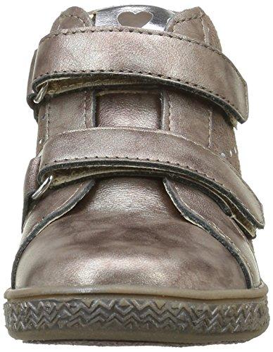 Babybotte Aublada, Chaussures Lacées Fille Marron (213 Taupe Pailleté)