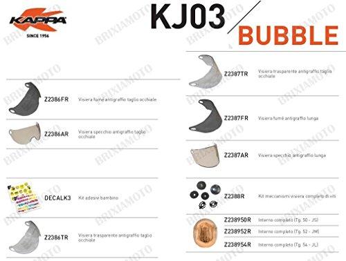 Kappa RICAMBIO Z238954R - INTERNO COMPLETO TG. JL/54