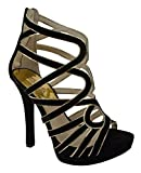 MICHAEL Michael Kors Women's Tatianna Platform Suede Shoes-B-8.5M