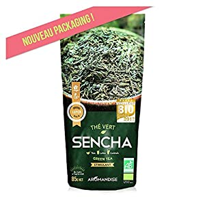 Florisens thé vert sencha bio - Sachet de 85 g