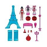 Bandai-39850-Eiffelturm und Figur 15cm