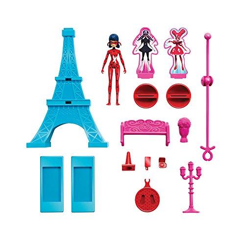 Barbie Kostüm Böse - Bandai-39850-Eiffelturm und Figur 15cm