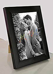 Painting Mantra Black Table/ Wall Photo Frame(Photo Size5 x 7) Inches