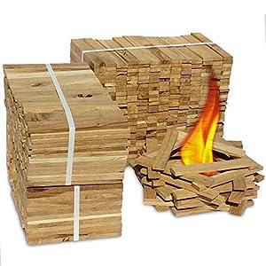 Premium Eiche Anmachholz – Besonders sauberes und trockenes Brennholz – Ideales Anfeuerholz für eine kuschelige…