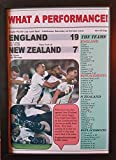 Sports Prints UK England 19 New Zealand 7-2019 Rugby World Cup semi-final - framed print