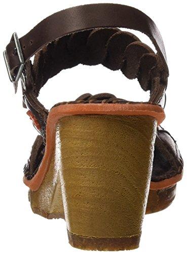 ART Damen 1050 Mojave Amsterdam Sandalen mit Knöchelriemen Braun (Brown)