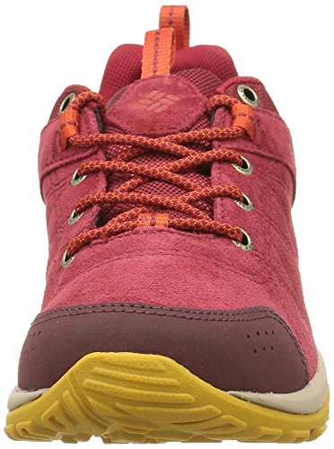 Columbia Damen Fire Venture Low Waterproof Rot (Red Dahlia, Bonfire 660Red Dahlia, Bonfire 660)