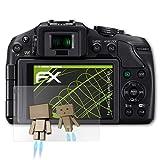 atFoliX Displayschutz für Panasonic Lumix DMC-G6 Spiegelfolie - FX-Mirror Folie mit Spiegeleffekt